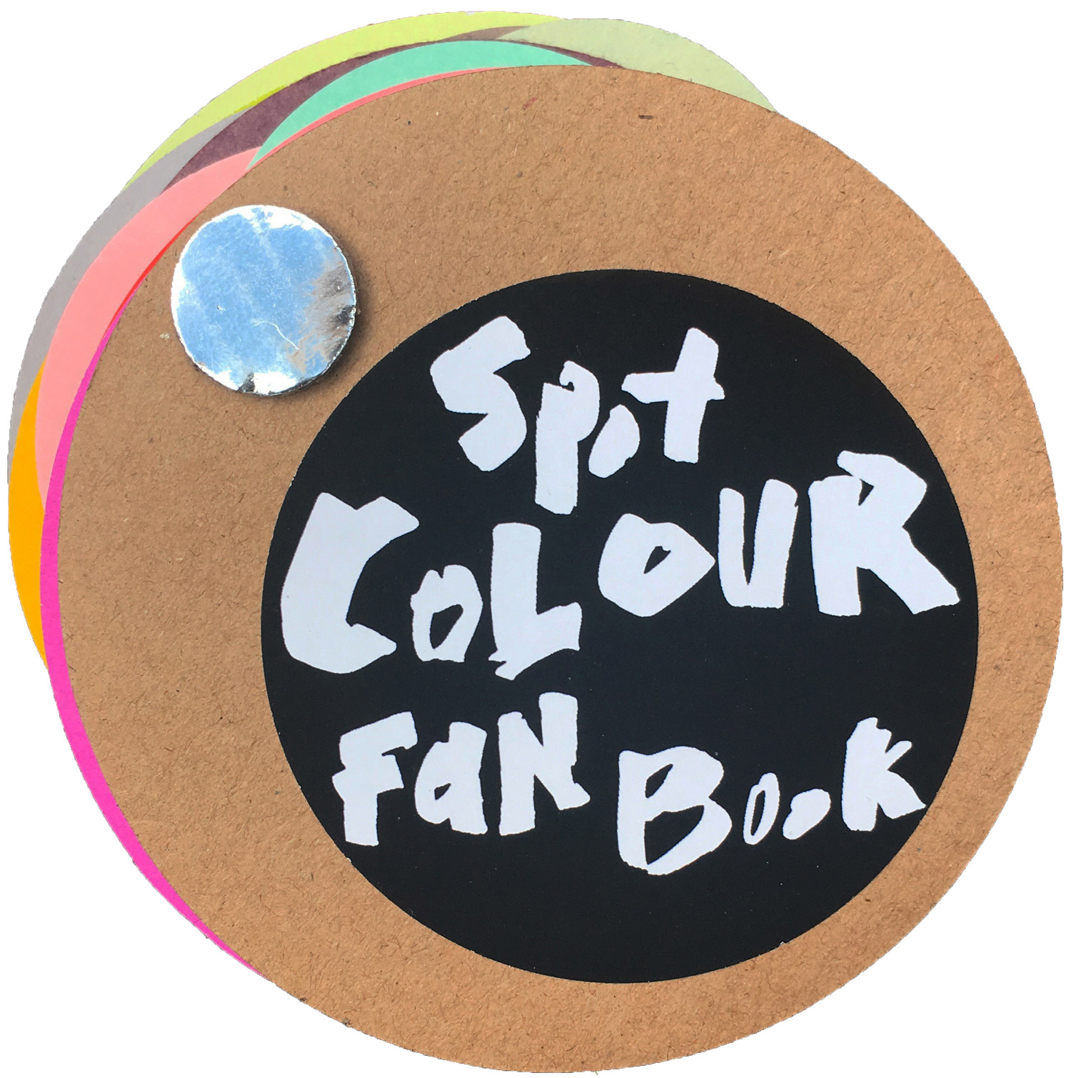 Spot Colour Fan Book © Margot Fagan